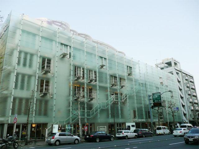 渋谷区広尾の風景